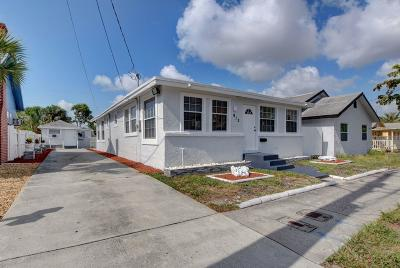 West Palm Beach Multi Family Home For Sale: 912 8th Street