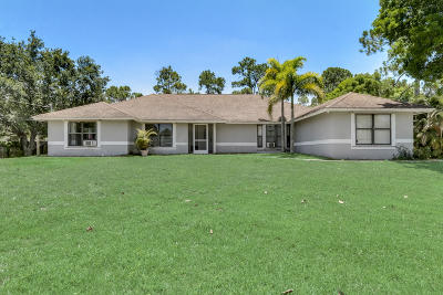 Royal Palm Beach Single Family Home For Sale: 11984 57th Road