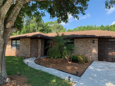 Fort Pierce Single Family Home For Sale: 5303 Seagrape Drive