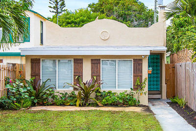 Lake Worth Single Family Home Contingent: 227 M Street