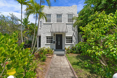 Palm Beach County Multi Family Home Contingent: 208 S M Street