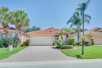 Boynton Beach Single Family Home For Sale: 7765 Trapani Lane