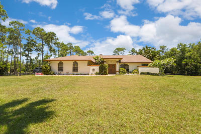 Lake Worth Single Family Home For Sale: 11581 Hawk Hollow