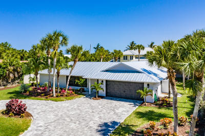 Indian River Shores Single Family Home For Sale: 955 Sunrise Terrace