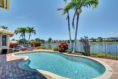 Boynton Beach Single Family Home For Sale: 11076 Via Siena
