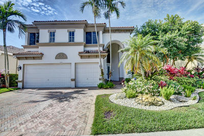 Delray Beach Single Family Home For Sale: 7856 L Aquila Way