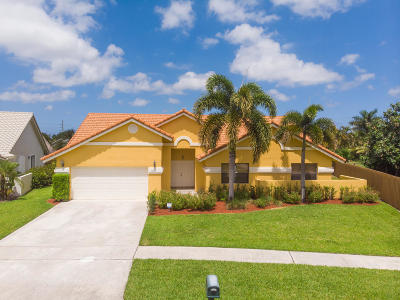 Boynton Beach Single Family Home For Sale: 9267 Laurel Green Drive