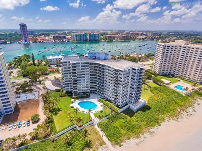Palm Beach County Condo For Sale: 700 S Ocean Boulevard #303