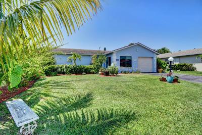 Lake Worth Single Family Home Contingent: 6296 Summer Sky Lane