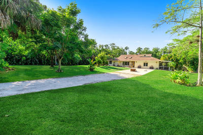 Jupiter Single Family Home For Sale: 11669 162nd Place