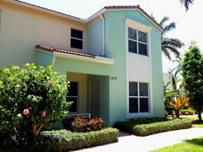 Boca Raton Townhouse For Sale: 1453 NW 48th Lane