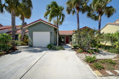 Boynton Beach Single Family Home Contingent: 6213 S 97th Court