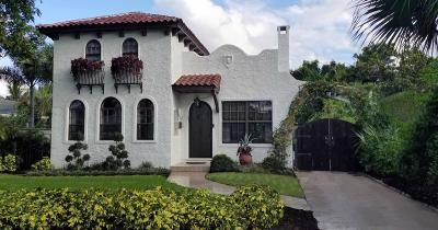 West Palm Beach Single Family Home For Sale: 308 Monroe Drive