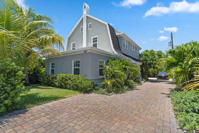 Lake Worth Single Family Home For Sale: 230 Princeton Drive