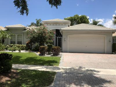 Delray Beach Single Family Home For Sale: 7101 Francisco Bend Drive