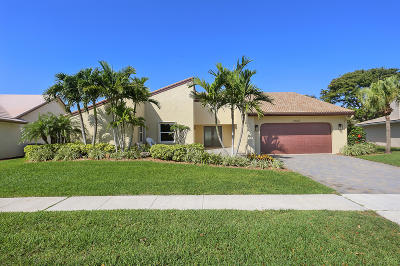 Boynton Beach Single Family Home For Sale: 2407 SW 23rd Cranbrook Drive