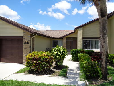 Royal Palm Beach Single Family Home For Sale: 152 Ramblewood Circle