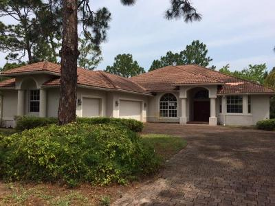 Fort Pierce Single Family Home For Auction: 9532 Shadow Lane