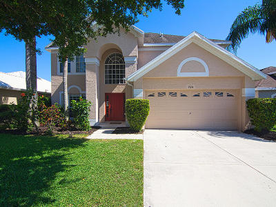 Jensen Beach Single Family Home For Sale: 704 NW Waterlily Place