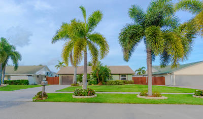 Delray Beach Single Family Home For Sale: 3031 Cormorant Road