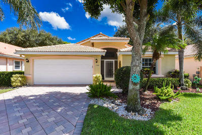 Boynton Beach Single Family Home For Sale: 7384 Lugano Drive