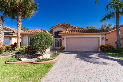 Boynton Beach Single Family Home For Sale: 7794 Caprio Drive