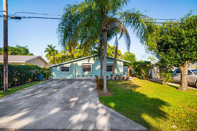 Jupiter Single Family Home For Sale: 405 Pinegrove Avenue