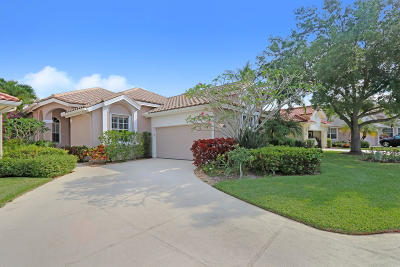 Palm Beach Gardens Single Family Home For Sale: 335 Eagleton Golf Drive