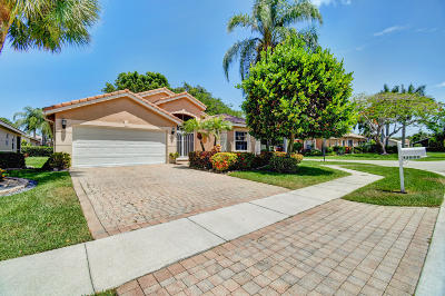 Delray Beach Single Family Home For Sale: 13858 Via Nadina