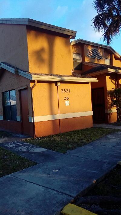 Broward County Condo For Sale: 2521 NW 56th Avenue #102