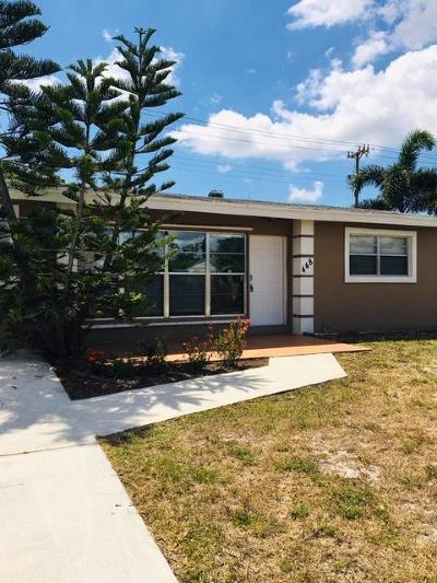 Lake Worth Single Family Home Contingent: 448 Cheyenne Drive