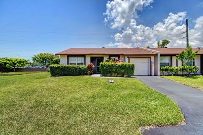 Delray Beach Single Family Home Contingent: 5316 Breadfruit Circle