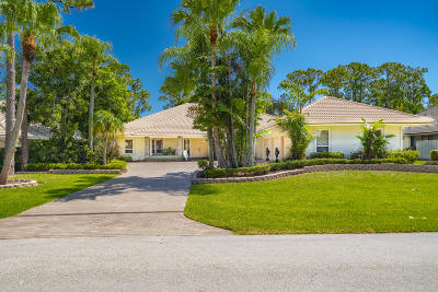 Palm Beach Gardens FL Single Family Home For Sale: $839,900