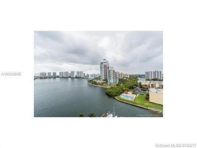 Miami-Dade County Condo For Sale: 3530 Mystic Pointe Drive #1603