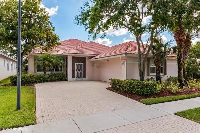 West Palm Beach Single Family Home Contingent: 9150 Bay Harbour Circle
