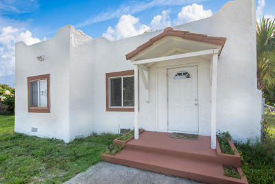 West Palm Beach Multi Family Home For Sale: 938 33rd Street