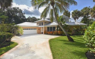 Stuart Single Family Home For Sale: 1514 SE Riverside Drive
