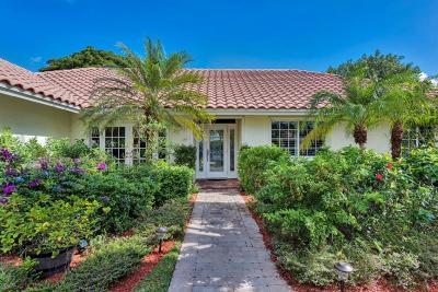Boca Raton Single Family Home For Sale: 2934 Banyan Boulevard Circle NW