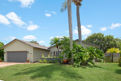 Boca Raton Single Family Home For Sale: 7460 San Clemente Place