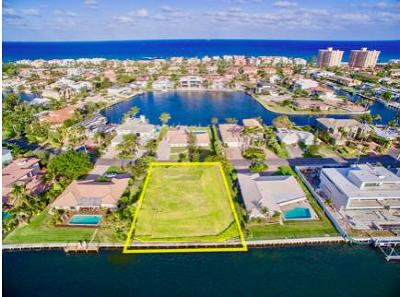 Highland Beach Residential Lots & Land For Sale: 4320 Intracoastal Drive