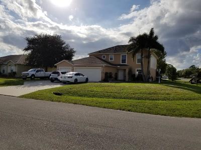 Okeechobee Single Family Home For Sale: 815 SE 38th Terrace