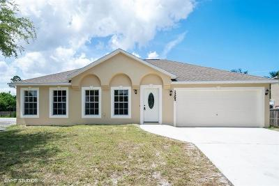 Port Saint Lucie Single Family Home For Sale: 1265 SW Melrose Avenue