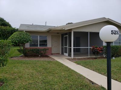 West Palm Beach Single Family Home For Sale: 5292 Mariesa Avenue