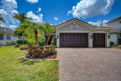 Royal Palm Beach Single Family Home Contingent: 8446 Butler Greenwood Drive