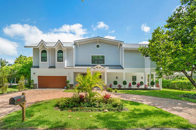 Boynton Beach Single Family Home For Sale: 600 Chapel Hill Boulevard