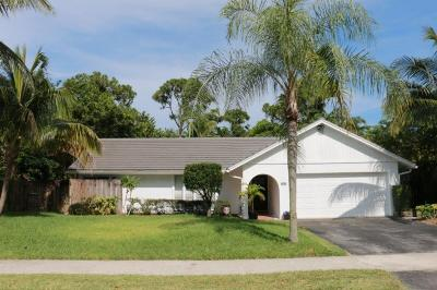 Delray Beach Single Family Home For Sale: 801 Sunflower Avenue