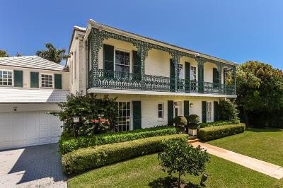 Palm Beach Single Family Home For Sale: 311 Pendleton Lane