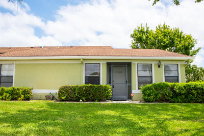 West Palm Beach Single Family Home For Sale: 4263 Willow Brook Circle