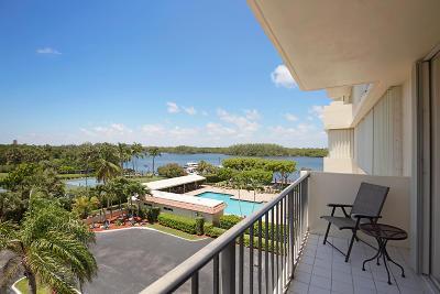 Boca Towers, Boca Towers Condo, Boca Towers Condo Portion Rental For Rent: 2121 Ocean Boulevard #403w