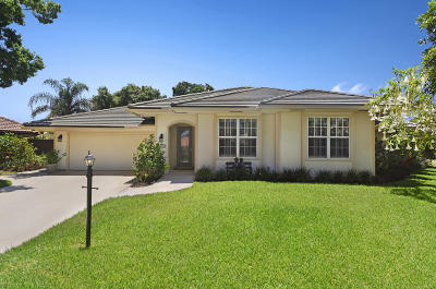 Palm Beach Gardens Single Family Home For Sale: 1053 Shady Lakes Circle